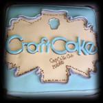 CraftCake logo en tarta