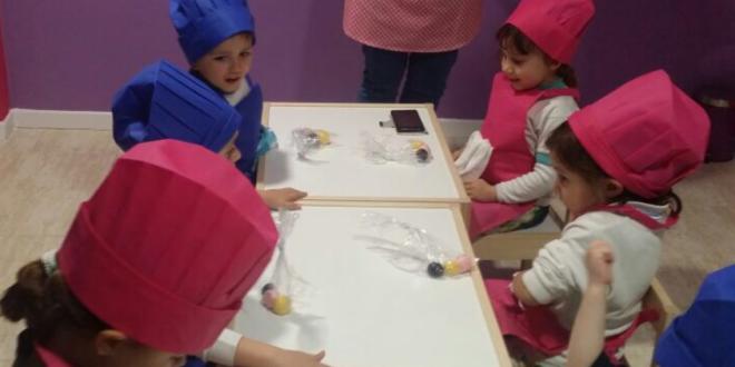 Amicus primer curso de pastelería creativa a cargo de CraftCake.