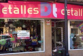 NUEVA TIENDA DE DT/DETALLES EN MADRID